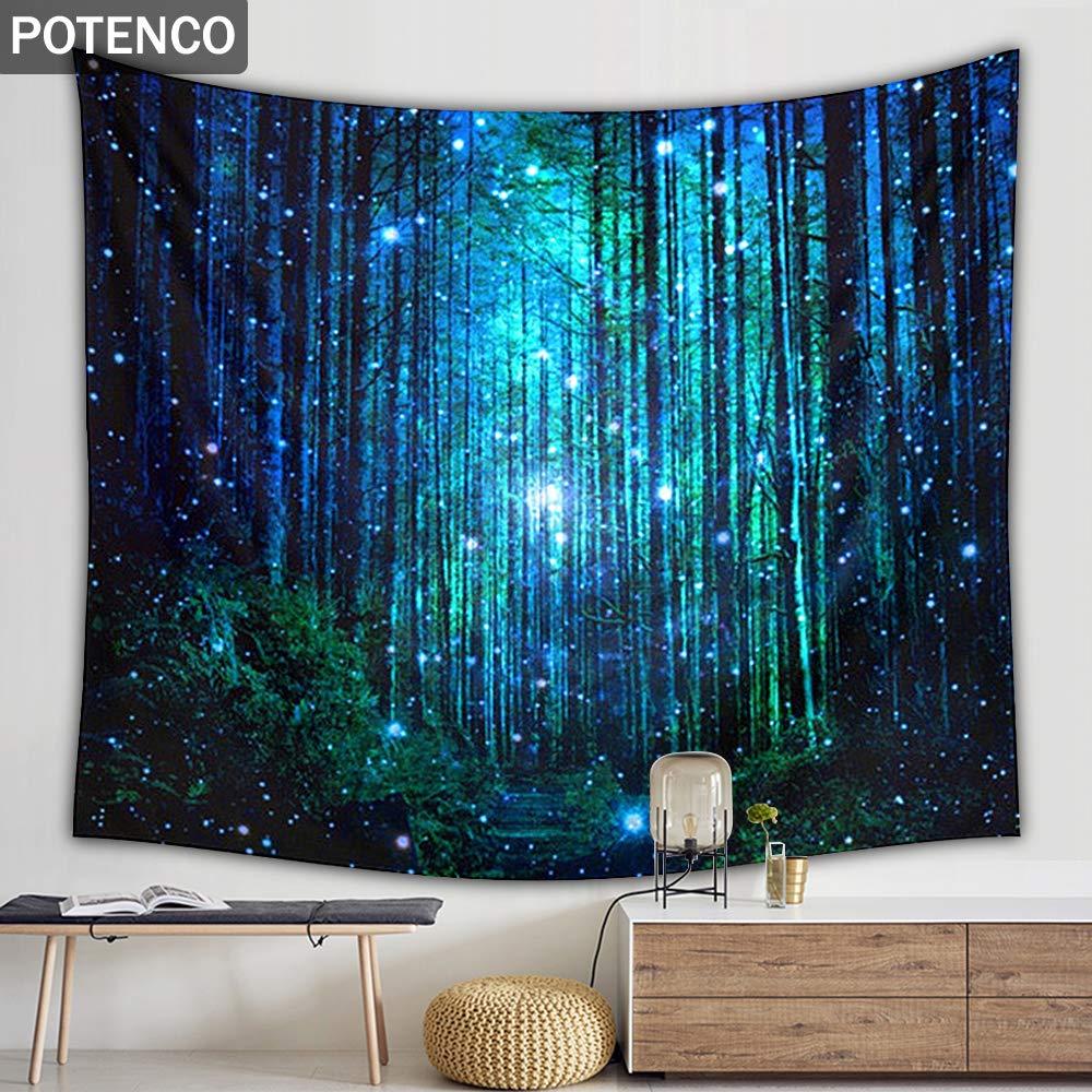 Amazon.com: POTENCO Tapiz para colgar en pared con diseño de ...