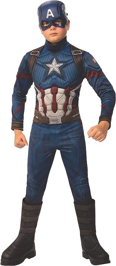Avengers 4 Deluxe Captain America Costume /& Mask