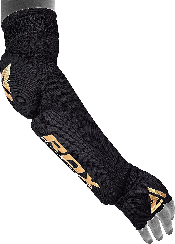 RDX Boxeo Brazo Protector Codo Antebrazo Codera Baloncesto Soporte Vendaje Protecciones Coderas