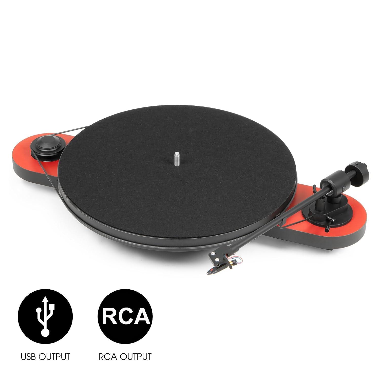 Pro-Ject - Tocadiscos para Equipo de Audio con USB: Amazon.es ...