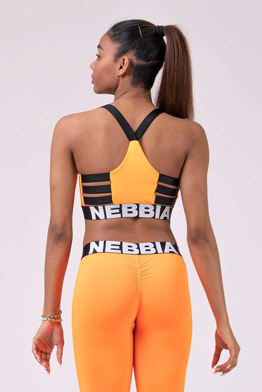 Arancione Palestra S Corsa Nero Crossfit Nero NEBBIA Lift Hero Sports Mini Top 515 Reggiseno Sportivo per Bodybuilding Kaki