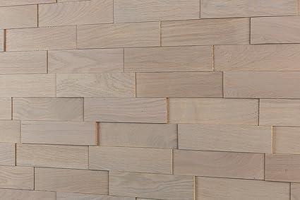 Wodewa Roble gris - Madera auténtica para paneles de pared madera ...