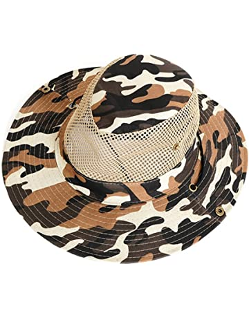 SEGRJ 1Pc Fisherman Hat Outdoor Fishing Sun Resistant Breathable Mesh  Climbing Camouflage Pattern Cap Sunhat 409da96aa22a