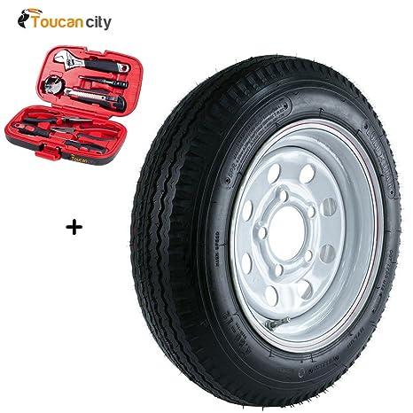 Martin rueda 480 – 12 carga gama C 5-hole Mod remolque neumático y rueda