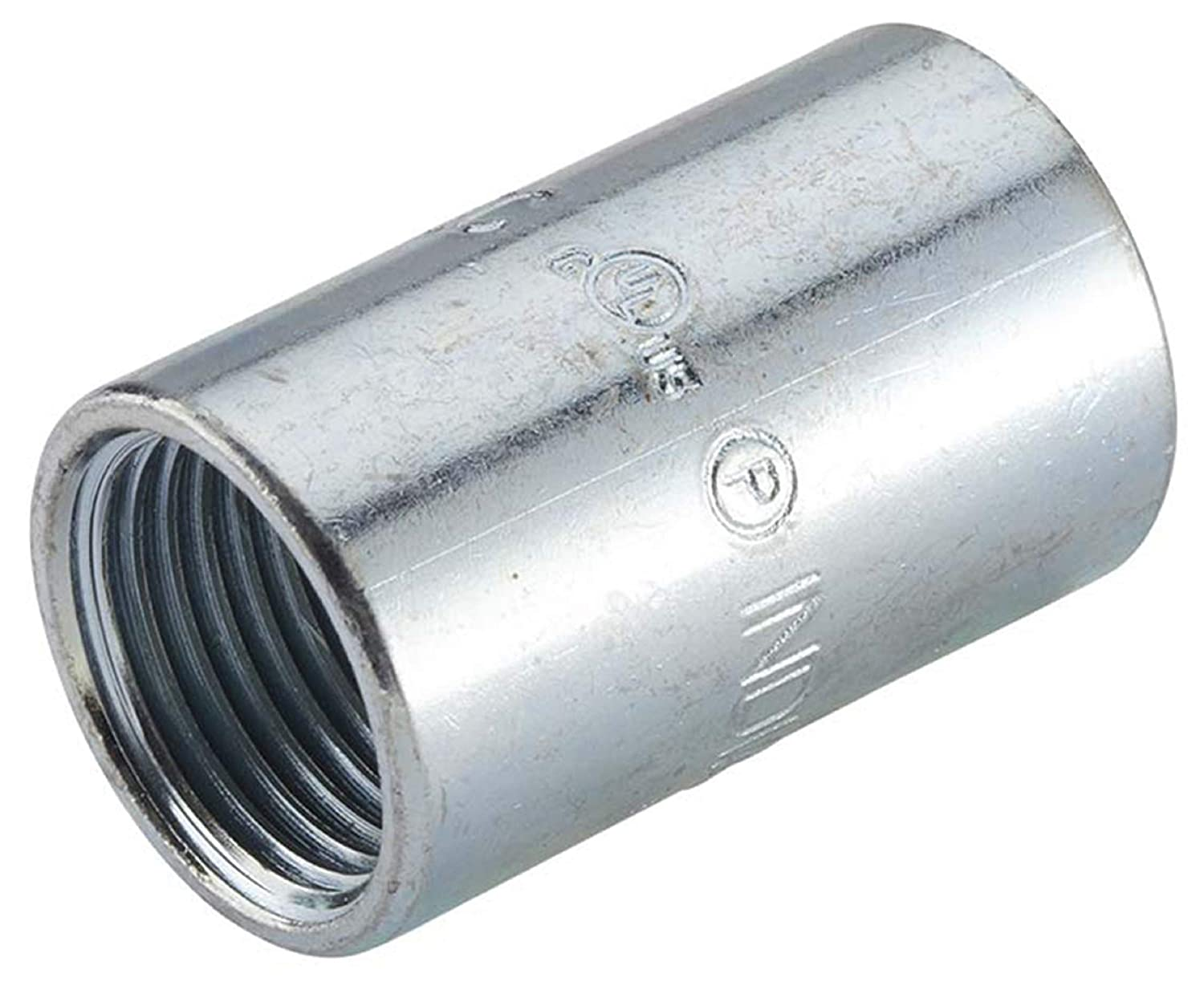 Halex 64010 RIGID THREADED COUPLING EACH 1 Silver