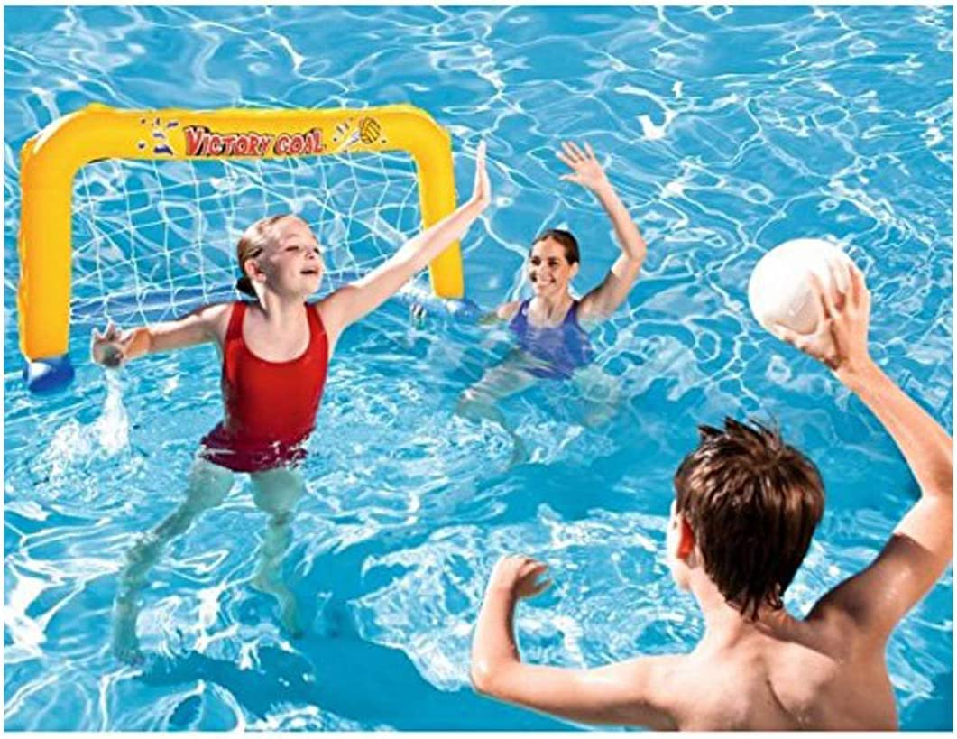 LEMON TREE SL Porteria Hinchable Waterpolo para Piscina o Playa ...
