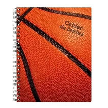 Exacompta - Cuaderno de textos espiral - 17 x 22 cm baloncesto ...