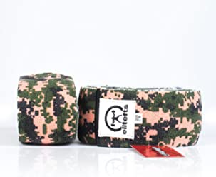 40456404a7 EliteFTS DESIGNER KNEE WRAPS PINK CAMO 3.0M - POWERLIFTING, WEIGHTLIFTING,  CROSSFIT, SQUAT