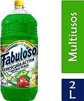Fabuloso Limpiador Líquido Frescura Profunda, Pasión de Frutas, 2 L