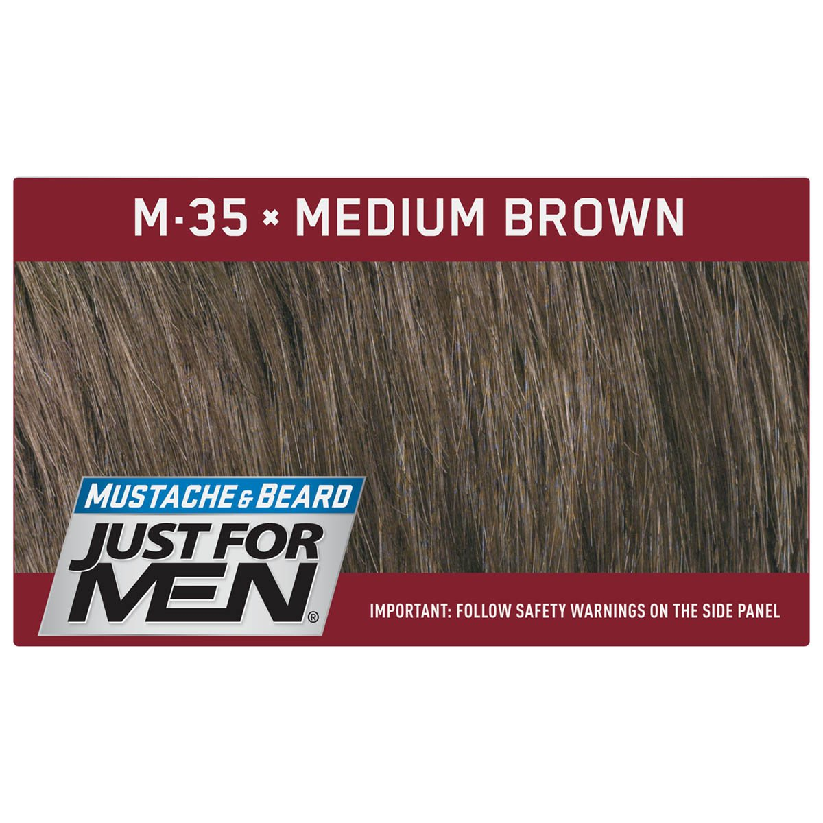 Just For Men Mustache & Beard Brush-In Color Gel, Medium Brown (Pack of 3) by Just for Men (Image #6)