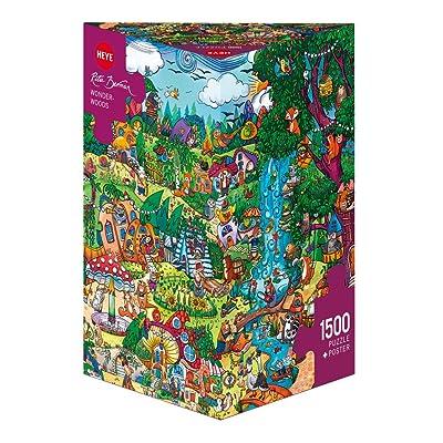 "Heye 29792 ""Wonderwoods Berman Triangular Puzzle: Toys & Games"