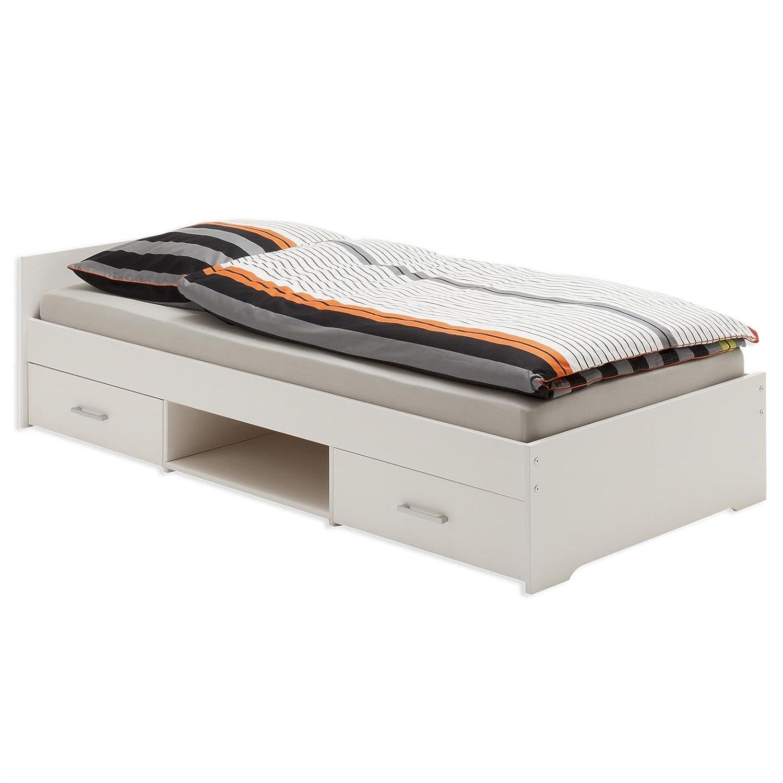 Fesselnde Einzelbett Weiß Dekoration Von Idimex Kai Funktionsbett Kinderbett Schubladenbett Kiefer Massiv