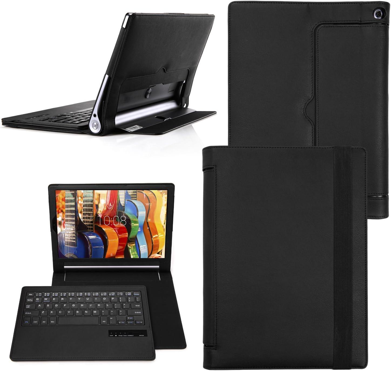 Yoga Tab 3 Pro 10 teclado funda, Cubierta Teclado Bluetooth ...