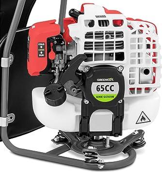 Greencut GM650XB-2 GM650XB-2-Desbrozadora de mochila 65cc 2-en-1 ...