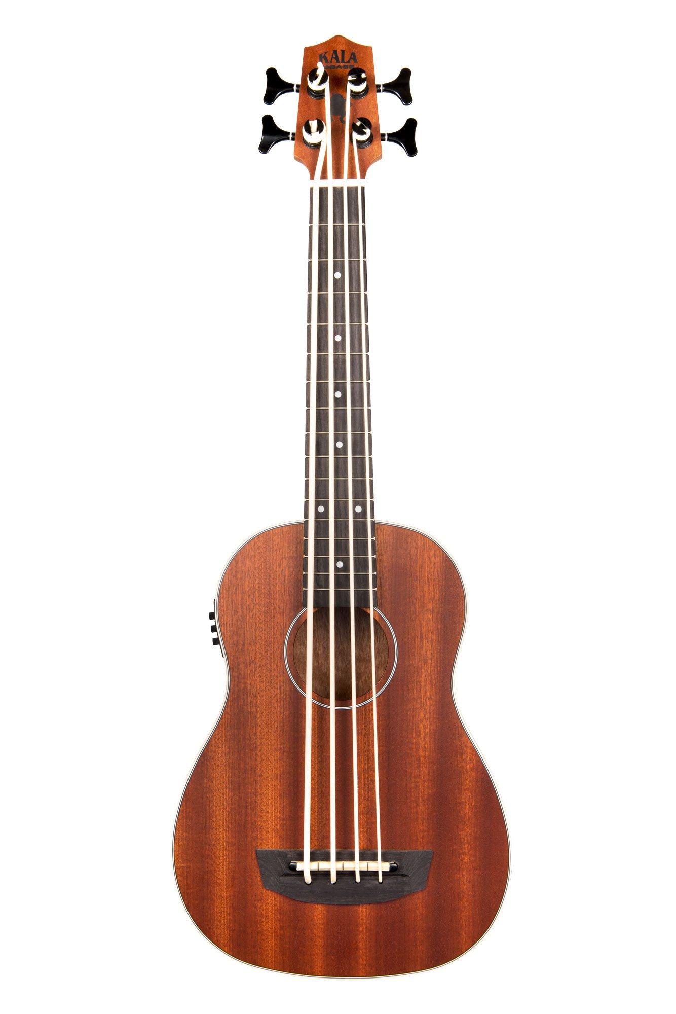 Kala U-Bass-PSGR-FS Passenger Acoustic-Electric U-Bass Ukulele Bundle with Gig Bag, Tuner, Austin Bazaar Instructional DVD, and Polishing Cloth by Kala (Image #2)