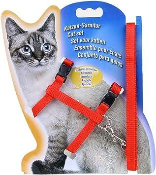 Blue Adjustable Durable Pet Rabbit Cat Kitten Leashes Belt Harness Collar Animal Walking Lead