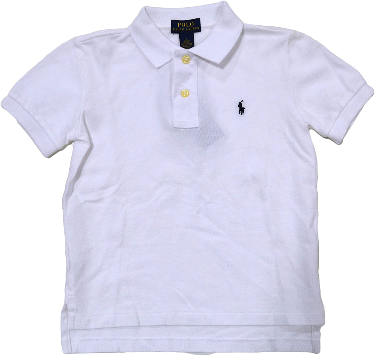Polo Ralph Lauren Boys Toddlers Mesh Classic Polo Shirt Bright Blue