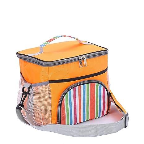 Amazon.com: Aislados bolsa de la compra de almuerzo con ...