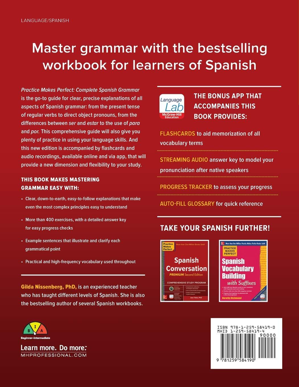 Practice Makes Perfect: Complete Spanish Grammar, Premium Third ...