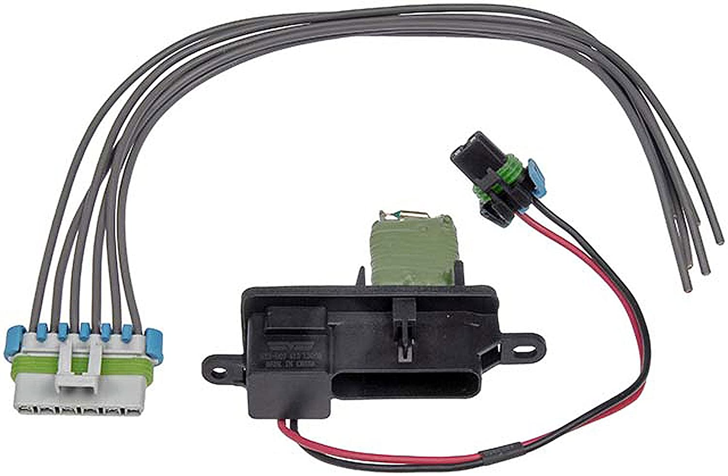 712Kx95bpxL._SL1500_ amazon com apdty 084518 blower motor resistor fan speed control w GMC Sierra Sierra 3500 at gsmx.co