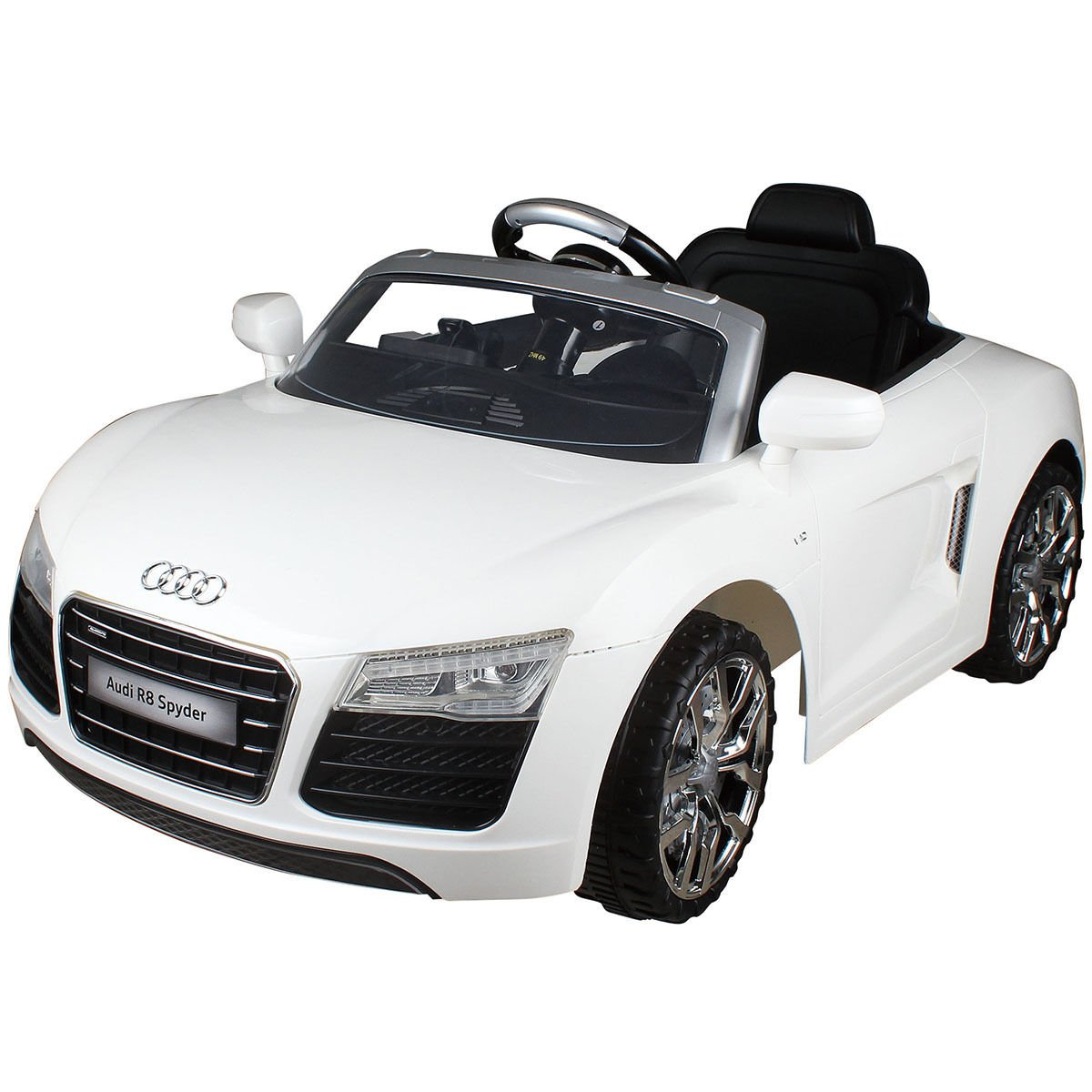 Amazon.com: Costzon White Audi Kids 12V Electric Ride On Car With MP3 RC  Remote Control Car: Toys U0026 Games