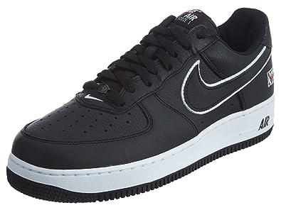 Nike Menns Flyvåpenet En Lav Basketball Sko Svart Og Hvitt I 1996 Zl4BL