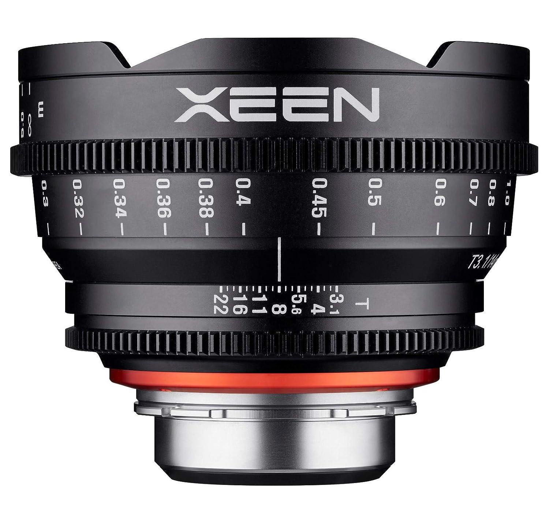 Xeen 15014t3.1pl T3.1 Cine Lens PL 接続 14mm ブラック   B01IAE18K8