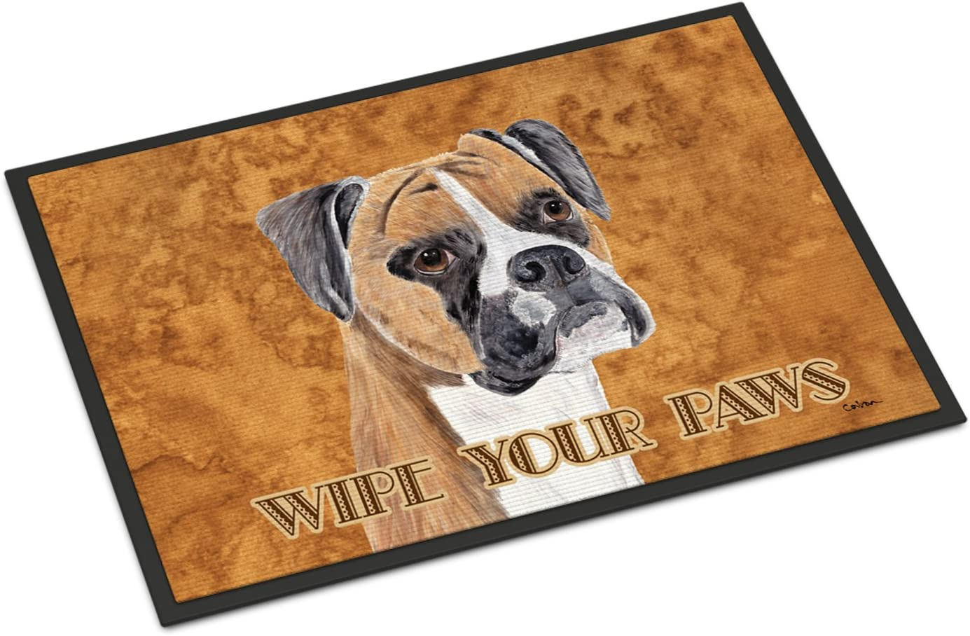 Caroline s Treasures SC9121JMAT Boxer Indoor or Outdoor Mat 24×36 Doormat, 24H X 36W, Multicolor