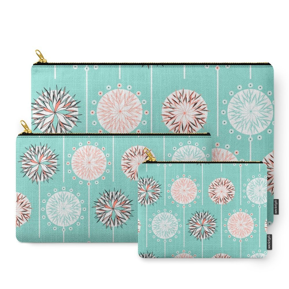 Society6 Fine And Dandy Wishes Carry-All Pouch Set of 3 by Society6 (Image #1)