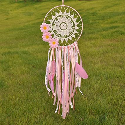 Amazon Ricdecor Handmade Indian Real Feathers Dream Catcher Awesome Is Dream Catcher Real