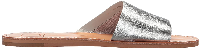 Dolce Vita Women's Cato Slide Sandal B077QTMXW1 7.5 M US Silver Leather