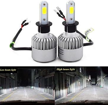 2X H8 H9 H11 6 SMD 36W LED Bulb Headlight Kit Fog Light Lamps Xenon White 4000LM