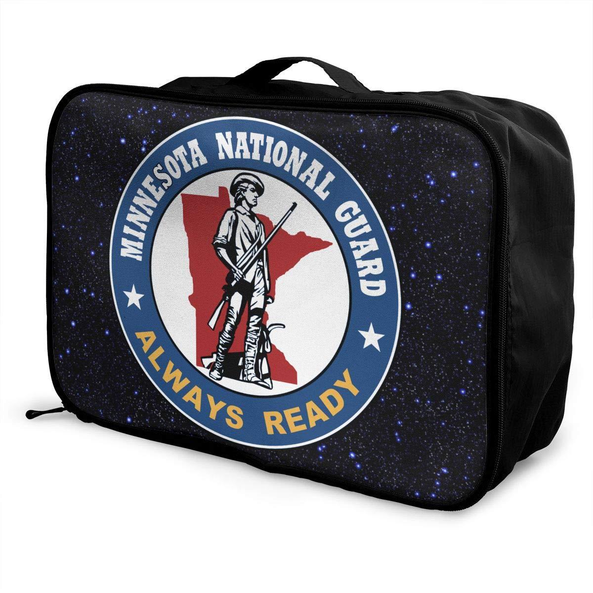 Unisex Travel Duffel Bag Waterproof Fashion Lightweight Large Capacity Portable Luggage Bag Minnesota National