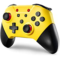 (Latest Version) Switch Controllers for Switch/Switch Lite,Wireless Pro Controller Joypad with NFC and Home Wake-Up…