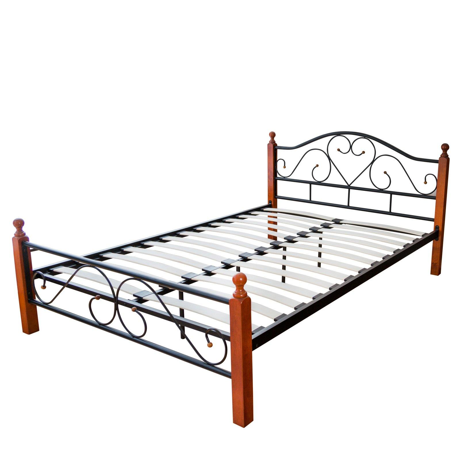 am besten bewertete produkte in der kategorie metallbetten. Black Bedroom Furniture Sets. Home Design Ideas