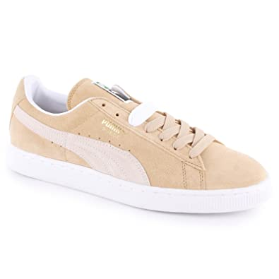 d5f22885a55c Puma Classic Suede Sand Mens Trainers Size 7 UK  Amazon.co.uk  Shoes   Bags