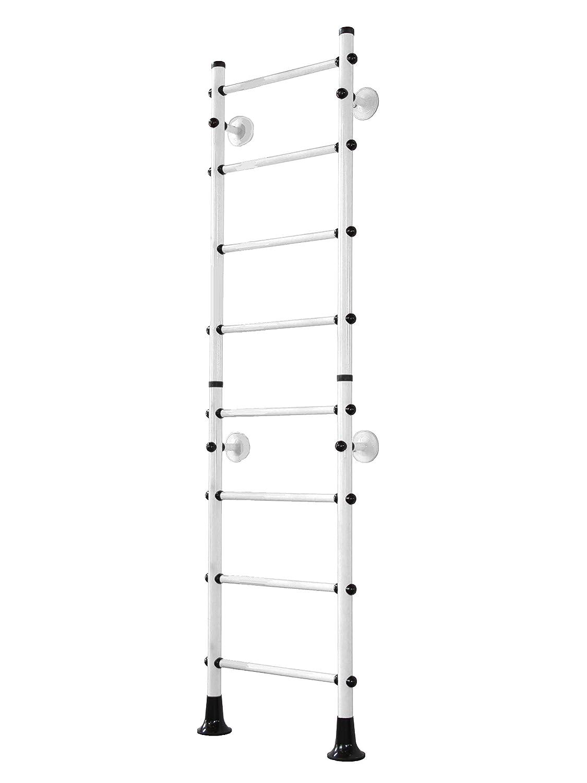 Sprossenwand Weiß - Niro Klettergerüst FitTop M4