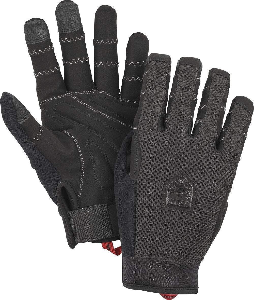 5-Finger Durable Lightweight Glove for Mountain Biking Hestra Ergo Grip Enduro Breathable Protective Full Finger Bike Glove for Men//Women
