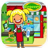 Pretend Grocery Store - Kids Supermarket Learning Games