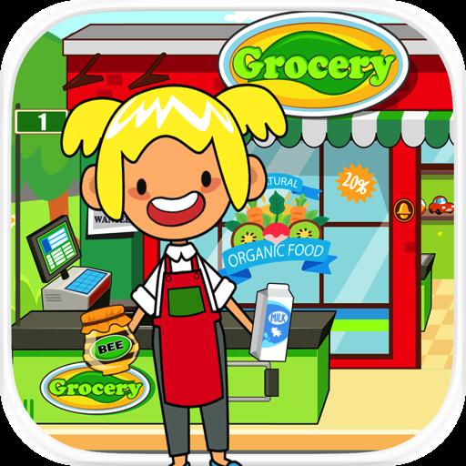 amazoncom pretend grocery store kids supermarket