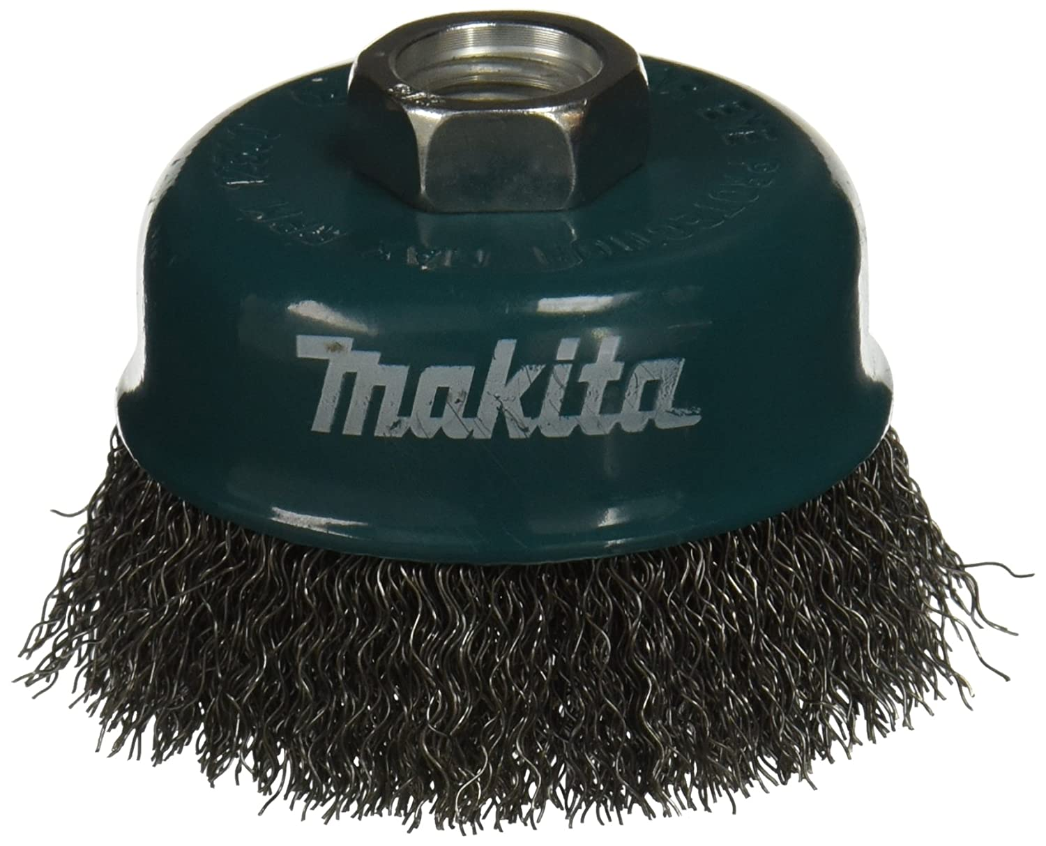 3 x 5//8-Inch 11 UNC Makita 2 Pack 0.020 Thick Wire 3 Inch Knotted Wire Cup Brush For Grinders Heavy-Duty Conditioning For Metal