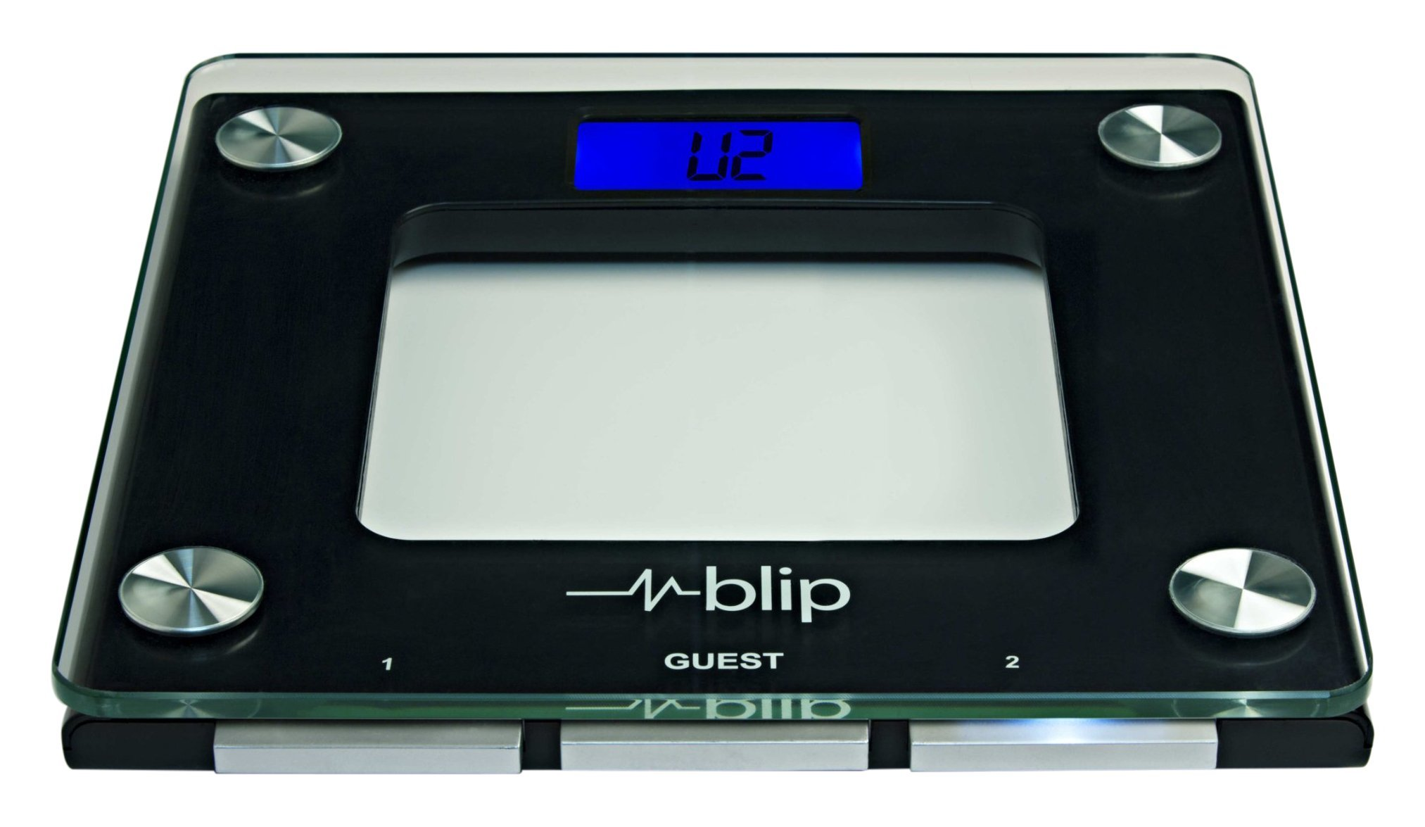 Blipcare Wi-Fi Scale, Track Weight, BMI and Balance Score, Audible Reminders, 10 users