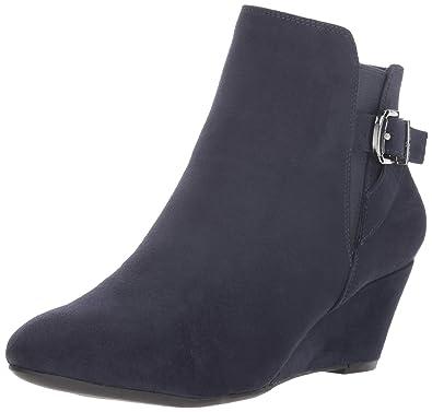 96f0820d8d3 Amazon.com | Anne Klein Women's Admina Wedge Bootie Ankle Boot ...