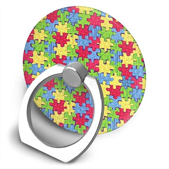 Amazon Autism Awareness Phone Ring Stand Holder Cell Phone