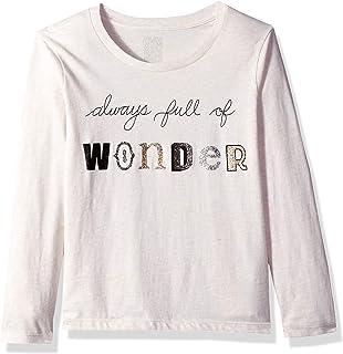 7cae18b7e Amazon.com: Gymboree Girls' Little Long Sleeve Sequin Graphic Tee ...