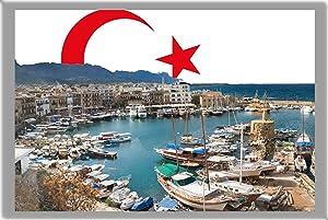 Nicosia Fridge Magnet, The Capital City of Northern Cyprus Refrigerator Magnet