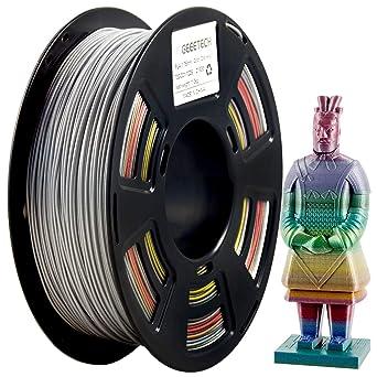 Filamento PLA de 1,75 mm, filamento brillante para impresora 3D, 1 ...