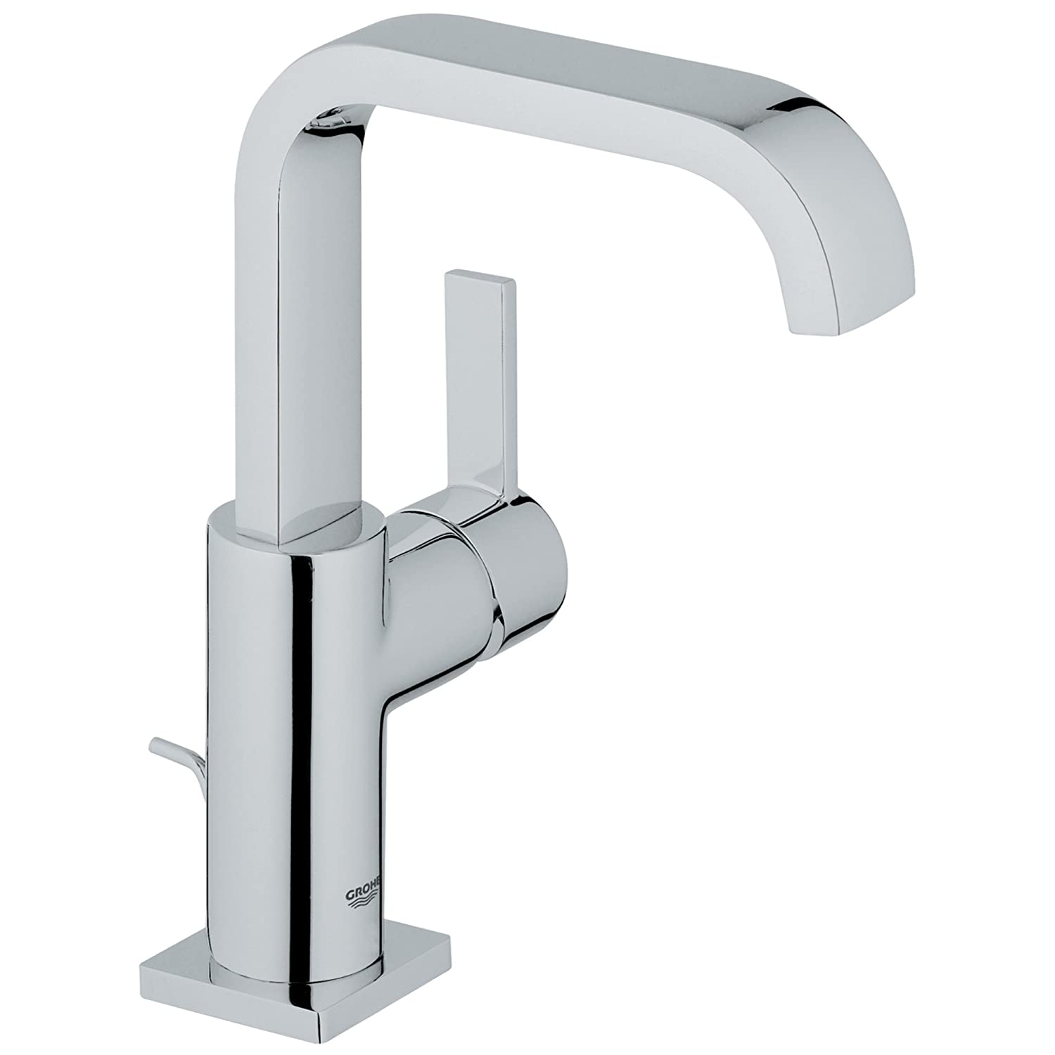 Allure Single-Handle Single-Hole High-Arc Bathroom Faucet - 1.5 GPM ...