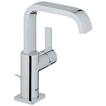 Allure Single Handle Single Hole High Arc Bathroom Faucet   1.5 GPM Part 27