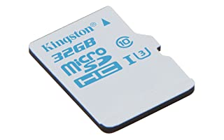 Kingston SDCAC/32GB - Tarjeta de memoria microSD de 32 GB para Action Camera (UHS-I U3, para GoPro y drones)
